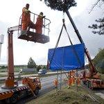 Části billboardů podél českých dálnic zvoní hrana