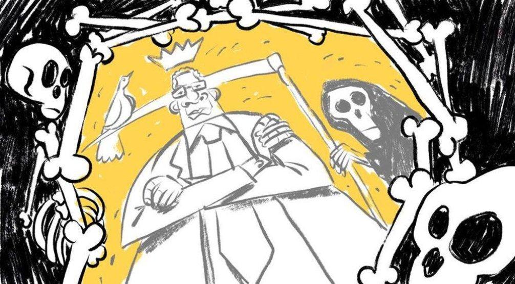 Ilustrace k eseji Anatomie omylu