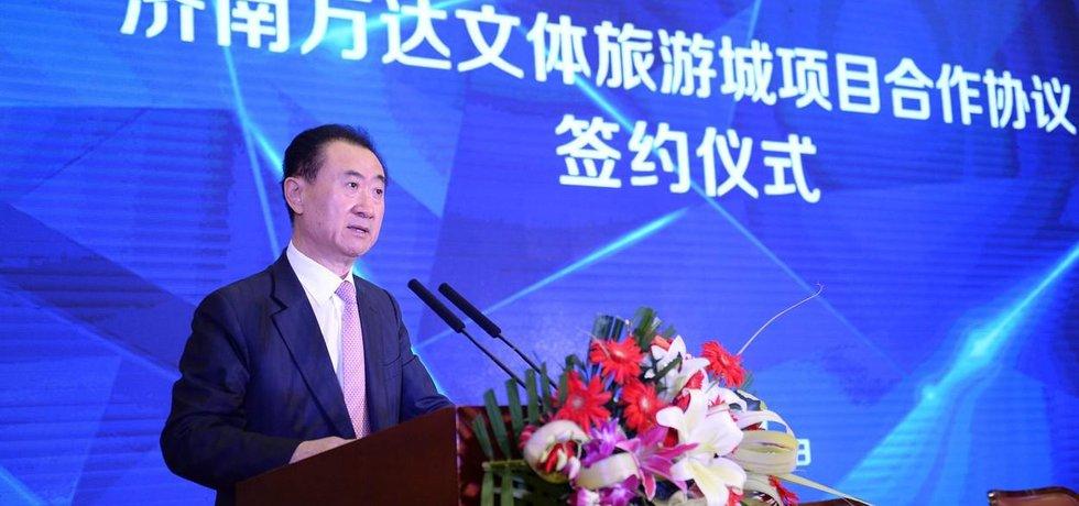 Nejbohatší Číňan Wang Jianlin