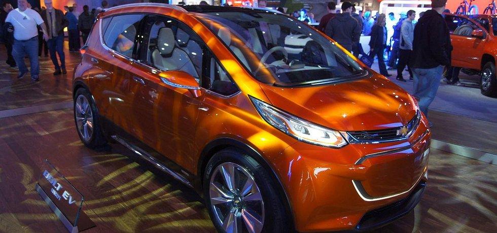 Koncept modelu Chevrolet Bolt