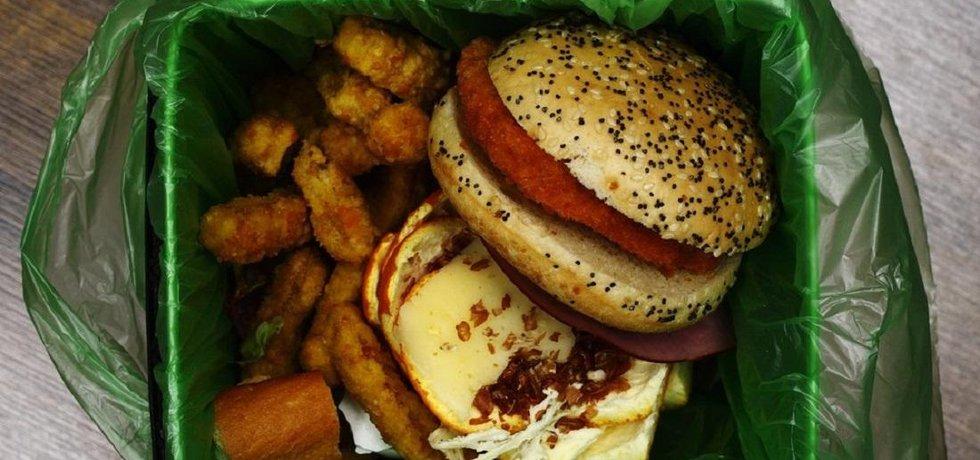 Plýtvání jídlem, ilustrační foto