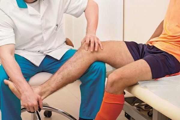 rehabilitace, ortopedie, koleno, zranění