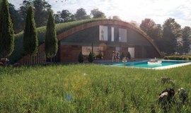 Projekt Krtkodom od slovenského architekta Martina Pribily