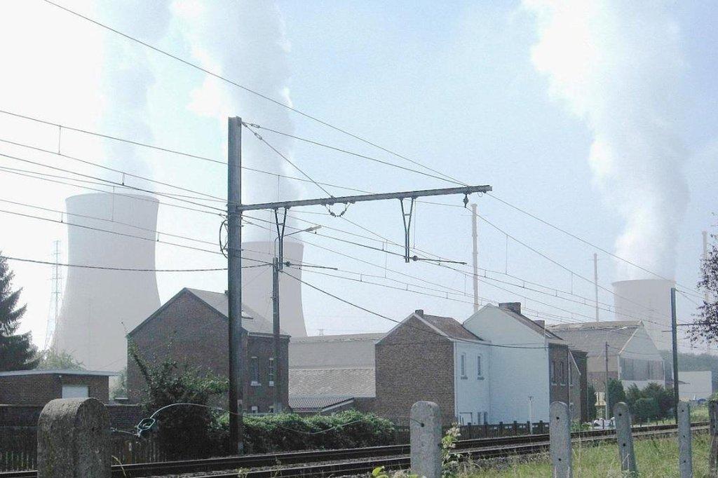 Jaderná elektrárna Tihange.