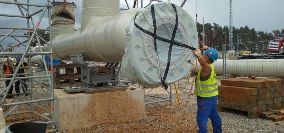 Stavba plynovodu Nord Stream 2 - ilustrační foto