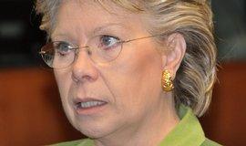 Evropská komisařka pro otázky spravedlnosti, základní práva a občanství Viviane Redingová