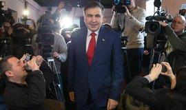 Vyhoštěnec. Podivuhodná cesta gruzínského exprezidenta Michaila Saakašviliho politikou východní Evropy je podle všeho u konce.