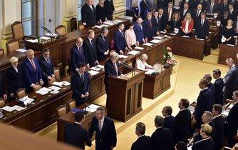 Ustavující schůze Sněmovny 20. listopadu 2017