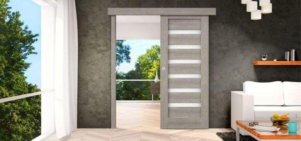 Posuvné dveře, ilustrační foto