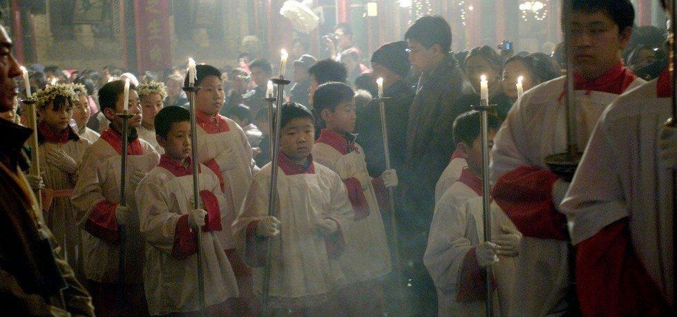 Čínští křesťané, ilustrační foto