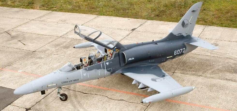 Výcvikový letoun L-159T od Aero Vodochody