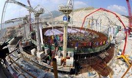 Francouzsko-čínský projekt stavby reaktoru EPR jaderné elektrárny Taišan.