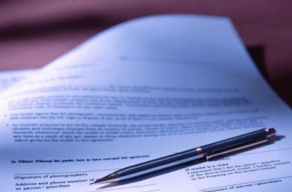podpis, pero, smlouva, dohoda