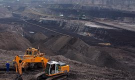 Polský povrchový důl Turów.