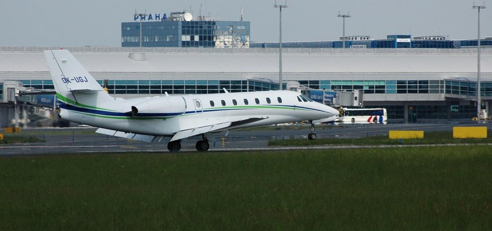 Cessna 680 Citation Sovereign aerolinek Travel Service