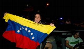 Příznivci venezuelské opozice slaví volební vítězství