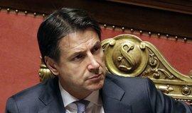 Conte ohlásil demisi, italská koaliční vláda končí