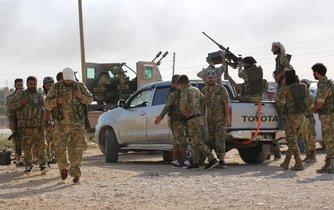 Turecká ofenziva na severu Sýrie