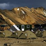 Tábor českých letců na Islandu