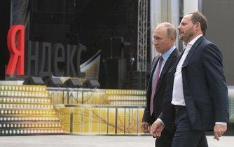 Vladimir Putin a Arkadij Volož