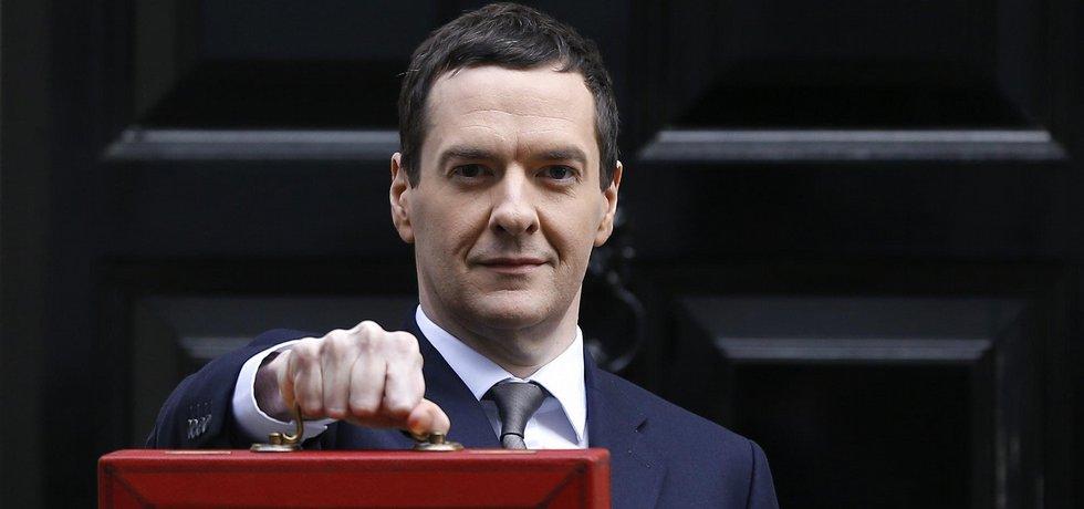 Britský ministr financí George Osborne