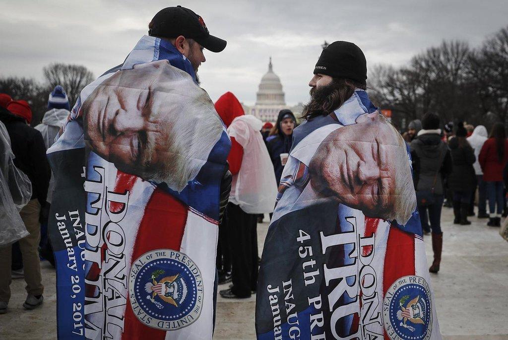 Příznivci Donalda Trumpa míří na prezidentskou inauguraci