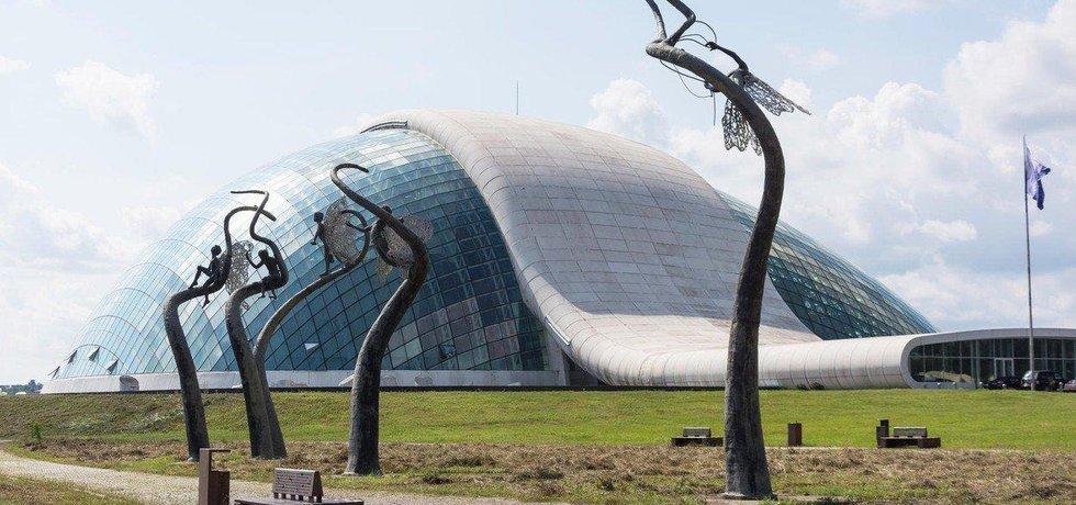 Budova gruzínského parlamentu v Kutaisi, ilustrační foto