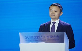 Šéf Alibaby Jack Ma