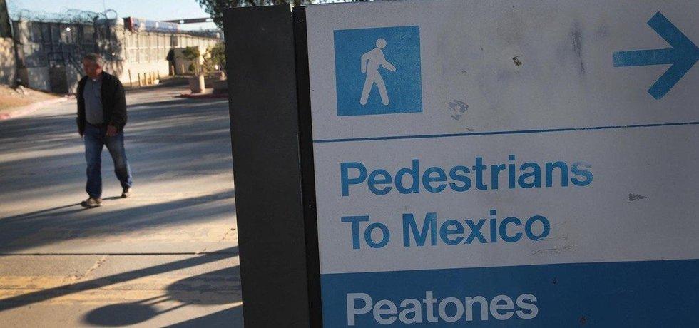 Hranice mezi Spojenými státy a Mexikem, ilustrační foto