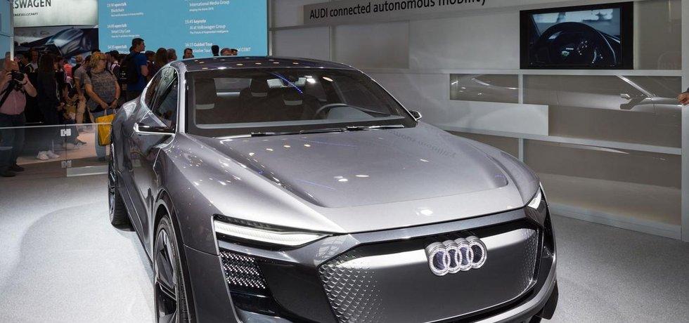 Koncept samořídícího vozu z dílny Audi, ilustrační foto