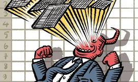 Tichá hrůza datokracie, ilustrační kresba