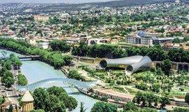 Největší pokroky ze zemí Východního partnerství udělala Gruzie (na snímku pohled na metropoli Tbilisi)