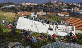 Madeira, nehoda autobusu s turisty