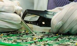 Výroba mikročipů, ilustrační foto