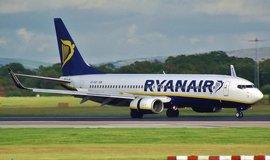 Boeing 737 aerolinek Ryanair, ilustrační foto