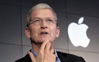 Tim Cook, šéf společnosti Apple