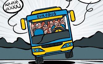 Euro, ilustrační kresba