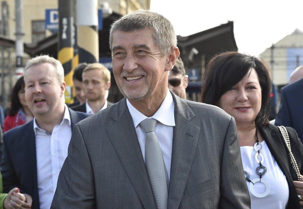 Richard Brabec, Andrej Babiš a Alena Schillerová