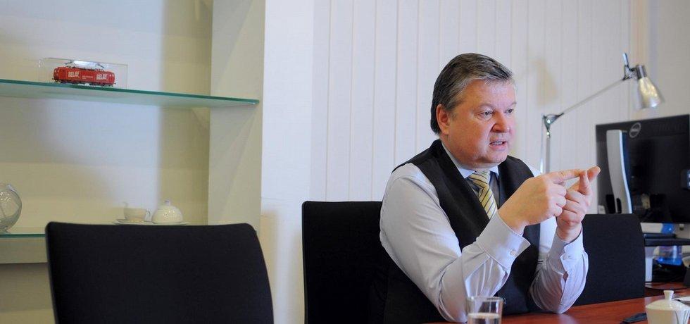 Předseda Správy státních hmotných rezerv Pavel Švagr