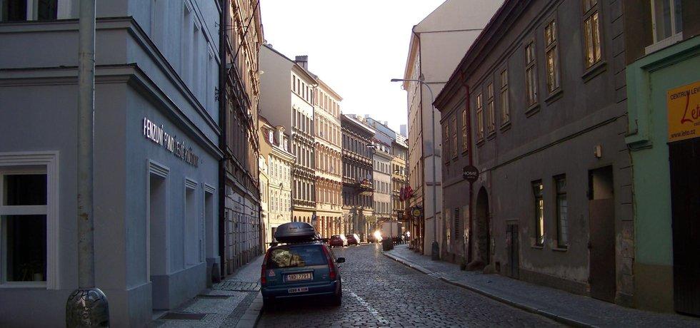 Truhlářská ulice v Praze 1