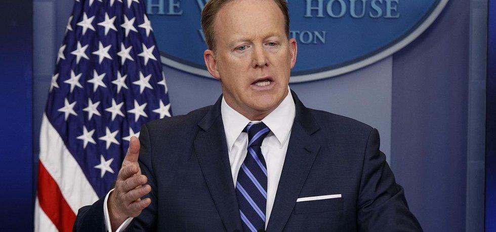 Mluvčí Bílého domu Sean Spicer