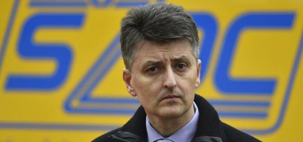Nový generální ředitel SŽDC Jiří Svoboda