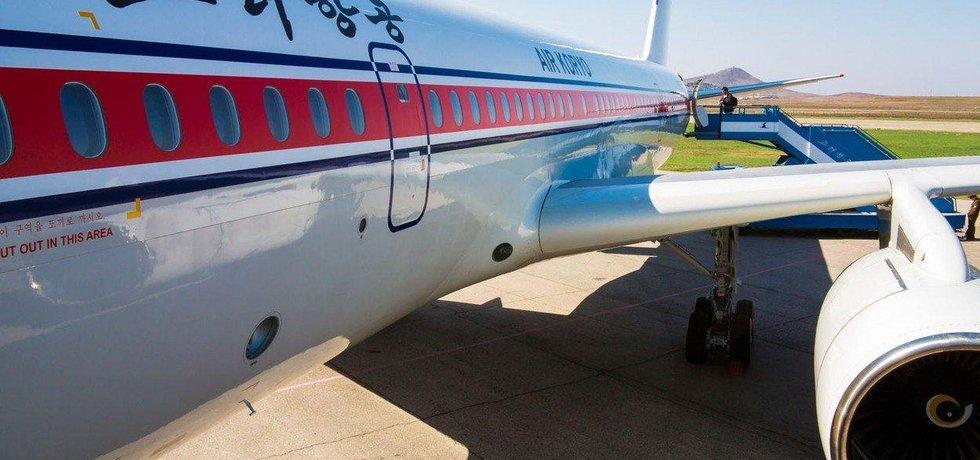 Letadla severokorejské letecké společnosti Air Koryo létají do Číny a do ruského Vladivostoku.