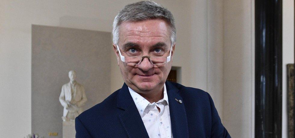 Hradní kancléř Vratislav Mynář