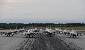 Bitevníky F-16, ilustrační foto
