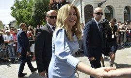 Zuzana Čaputová se 15. 6. 2019 ujala úřadu slovenské prezidentky