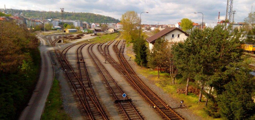 Bývalé nákladové nádraží Praha Smíchov