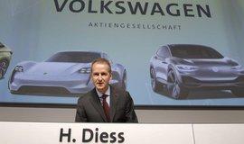 CEO Volkswagenu Herbert Diess