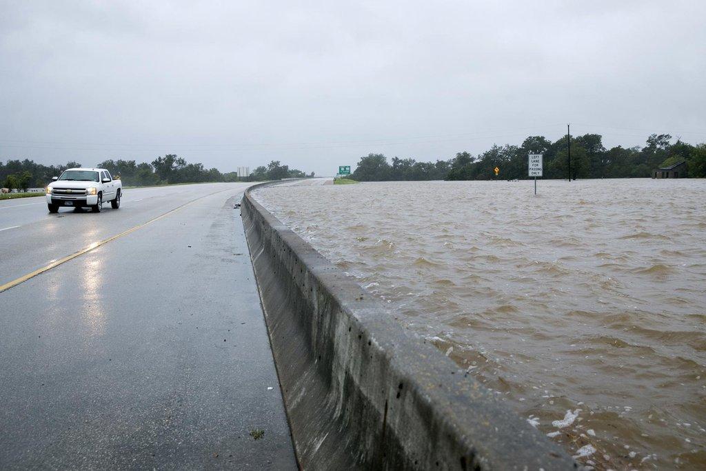 Zaplavené je rozsáhlé území