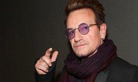 Zpěvák U2 Bono Vox při příjezdu na bezpečnostní konferenci v Mnichově